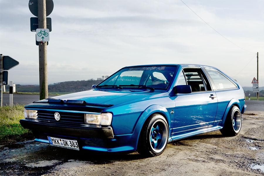 VW Scirocco GT2, Baujahr 1990.